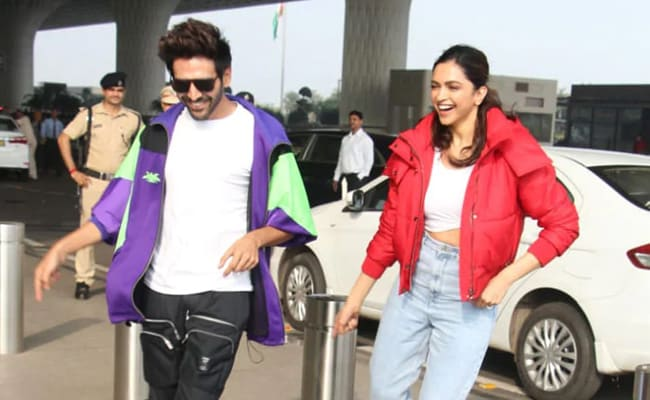 Deepika Padukone And Kartik Aaryan, In A Chatty Mood, Discuss A 'Fun Film' And More