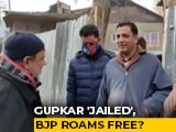 Video : Gupkar Alliance 'Jailed', BJP Roams Free?
