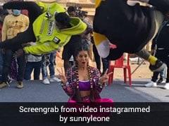 Sunny Leone के सामने इन दो लड़कों ने यूं दिखाए करतब, इंप्रेस होकर एक्ट्रेस ने शेयर किया Video