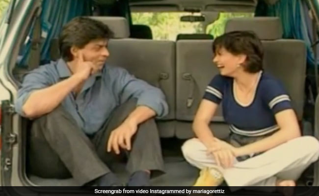 Maria Goretti Was So 'Nervous' About Interviewing Shah Rukh Khan That She Forgot Her Shoe