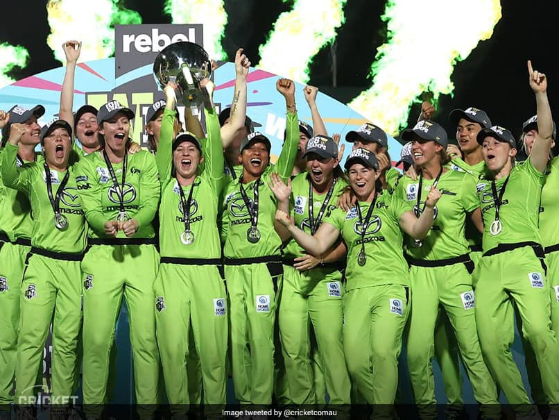 WBBL: Sydney Thunder Thrash Melbourne Stars In Final To Clinch Title