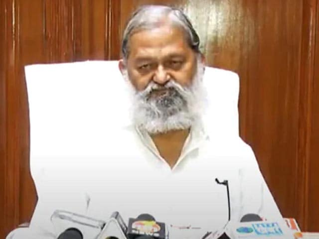 """Video : """"Will Probe Incident, Act Against Farmers If Guilty"""": Haryana Minister"""