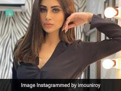 मौनी रॉय ने ब्लैक ड्रेस में दिखाया नया अंदाज, खूब वायरल हो रही हैं Photos