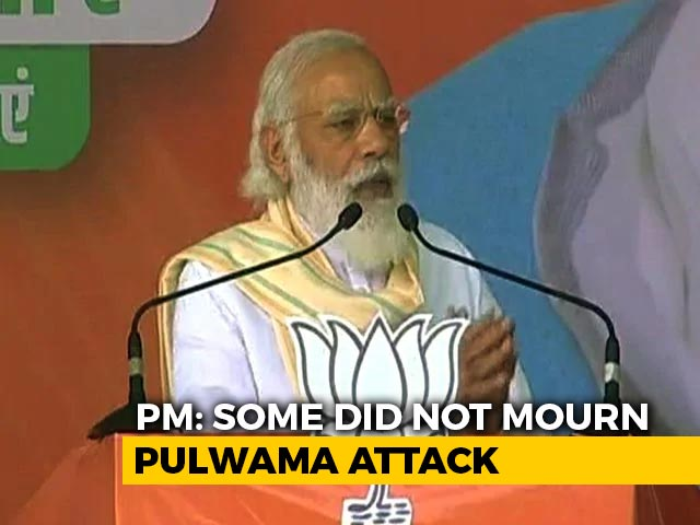 Video : PM Modi's Attack Against Opposition On Pulwama Continues For Day 2