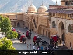जयपुर के आमेर महल में हाथी की सवारी फिर से शुरू