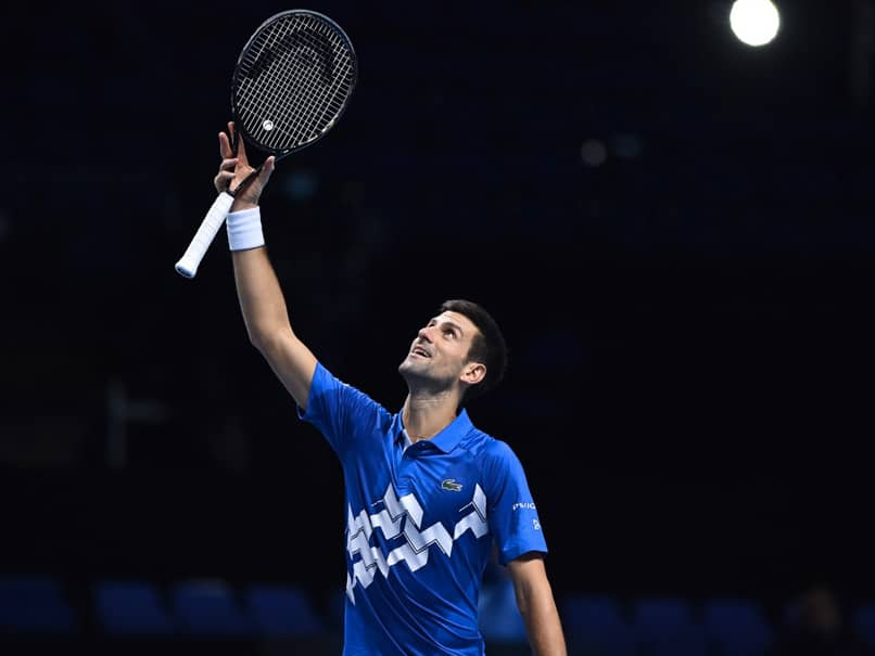 Novak Djokovic Beats Alexander Zverev To Reach Semis ATP Finals
