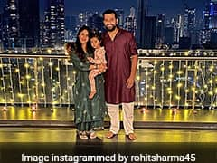 Rohit Sharma Shares Adorable Pic With Family, Wishes Fans Happy Diwali