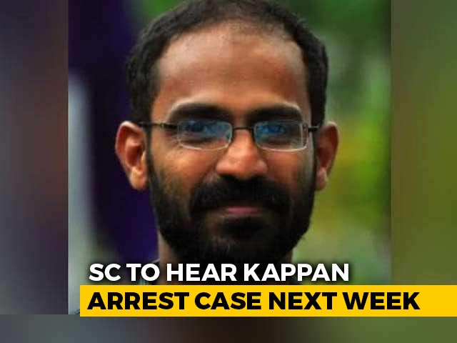Video : Hearing Of Plea For Journalist Siddique Kappan's Release Deferred