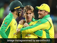 Australia vs India: Aaron Finch Happy To Be Playing In Front Of Fans Again