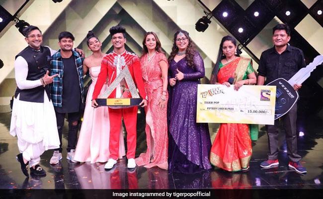 What India's Best Dancer Winner Tiger Pop Wrote After His Big Win