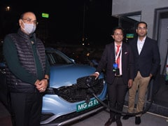 MG Motor India And Tata Power Set Up Agra's First Superfast EV Charger