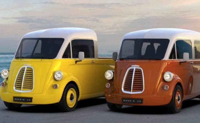 The JE is the reimagining of the classic J-type van that Morris sold in the 20th century