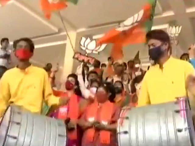 Video : By-Election Results 2020: BJP Sweeps Assembly Bypolls In Gujarat, Wins All 8 Seats