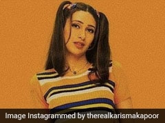 Karisma Kapoor's Retro Look Gives Way To A Fun And Funky Throwback Style