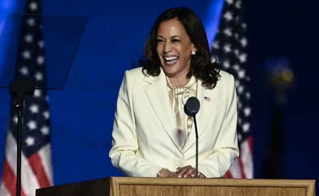 Kamala Harris Leads Record Wave Of Elected Women Changing Face Of US Politics