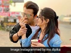 दीपिका कक्कड़ ने पति संग की स्कूटी की सवारी, रोमांटिक Photo और Video वायरल