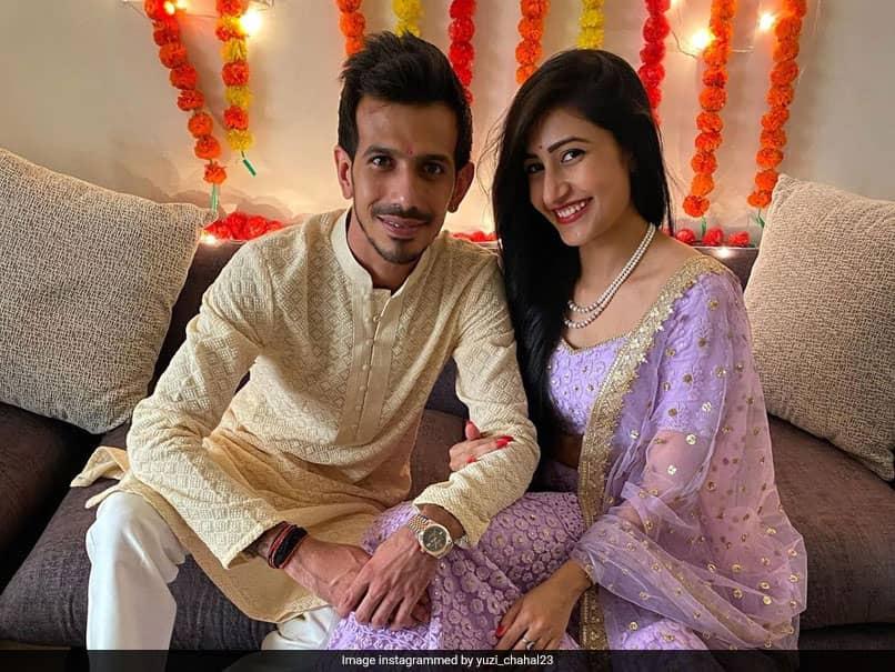 Yuzvendra Chahals عروس Danaashri Verma مهارت های سلفی خود را در عکاسی زرق و برق دار ستایش می کند.  Ch