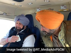 Amarinder Singh Meets Navjot Sidhu, Triggers Speculation Of Cabinet Berth