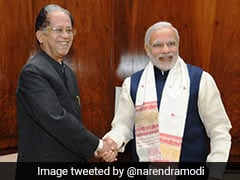 """Tarun Gogoi<i>Ji</i> Was Popular Leader, Veteran Administrator"": PM Modi"