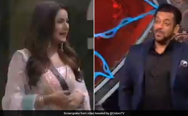 शहनाज गिल ने ली Bigg Boss 14 में एंट्री, सलमान खान से बोलीं-'आई लव यू इन पॉजिटिव वे'...देखें Video