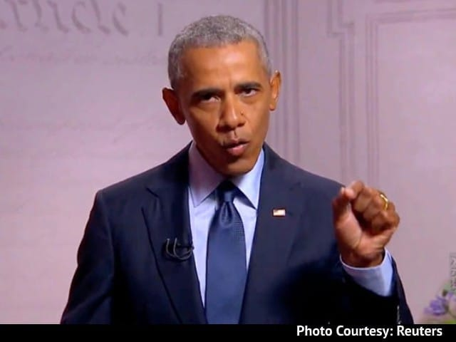 "Video : Obama On Manmohan Singh, Gandhis, BJP, ""Divisive Nationalism"" In Book"