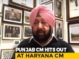 "Video : ""They Thrashed Farmers For Speaking Their Mind"": Amarinder Singh On Protest"