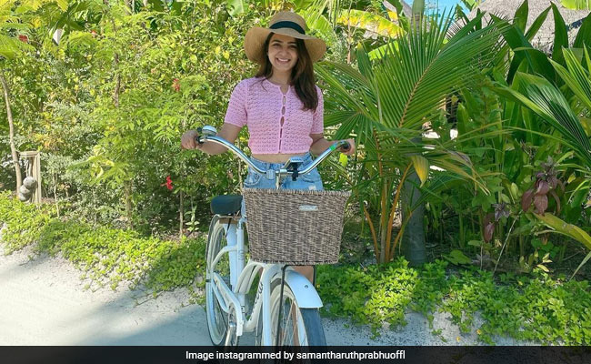 In Pics: Samantha Ruth Prabhu Is Having The Trip Of Our Dreams In Maldives