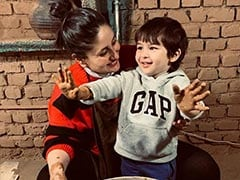 "Mom-To-Be Kareena Kapoor And ""Lil Man"" Taimur's Dharamkot Diaries"