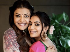 "Kajal Aggarwal's Sister Nisha Feels That The Actress' Wedding Festivities Aren't ""Over Yet"""