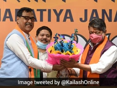 Trinamool MLA Mihir Goswami Joins BJP Hours After Announcing Resignation