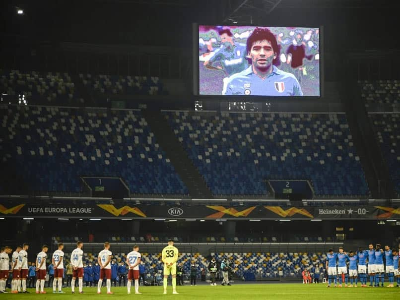 """Mourning"" Napoli Honour Diego Maradona As AC Milan Pull Clear In Serie A"