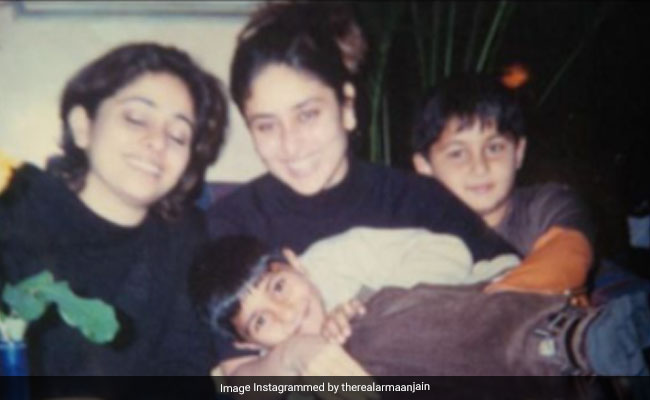 Kareena Kapoor's Pic With Cousins Nitasha Nanda, Armaan And Aadar Jain Is A True Blast From The Past