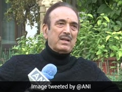 """Our Party's Structure Has Collapsed,"" Says Congress's Ghulam Nabi Azad"