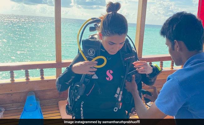 Samantha Ruth Prabhu Checks Into Maldives, Shares Pics From Holiday