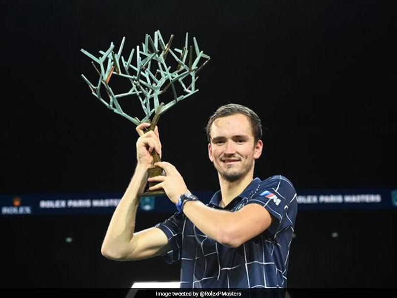 Magnificent Daniil Medvedev Beats Alexander Zverev To Win Paris Masters