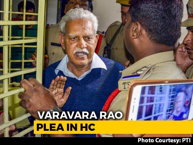 Video: Activist Varavara Rao's Wife's Plea In Bombay High Court Today