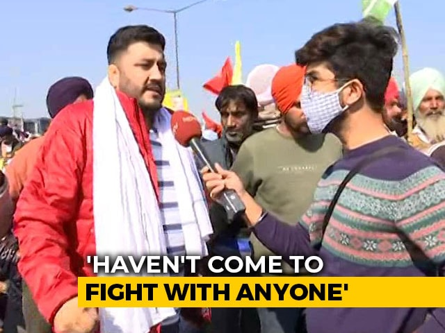 """Video : """"We Are Not Scared Of Covid But Of Discrimination"""": Protesting Farmers"""