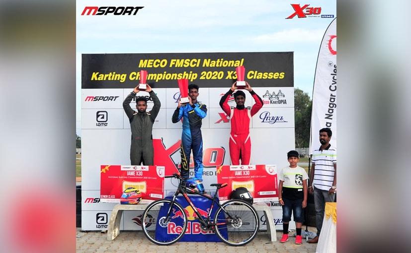 X30 Senior Class Winners - Suriya Varathan, Nirmal Umashankar and Bala Prasath