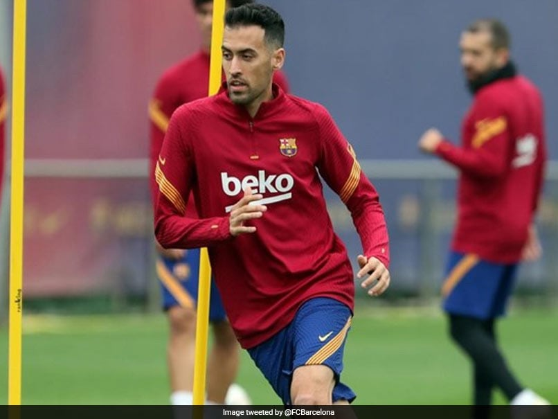Sergio Busquets To Miss Barcelonas Clash Against Atletico Madrid Due To Knee Injury