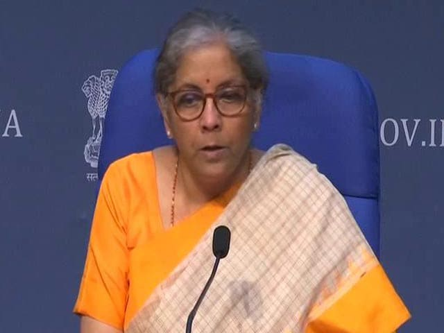 Video : Nirmala Sitharaman Announces Atmanirbhar Bharat 3.0 Measures, Says Strong Recovery Clearly Happening