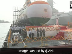 "Indian Navy's 5th Scorpene Submarine INS Vagir Launched, Has ""Stealth Features"""
