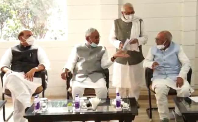 नीतीश कुमार फिर चुने गए बिहार NDA विधायक दल के नेता, सातवीं बार बनेंगे CM, सुशील मोदी उप मुख्यमंत्री बनेंगे