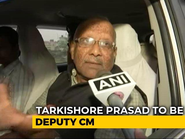 Video : BJP's Tarkishore Prasad To Be Nitish Kumar's Deputy In Bihar: Sources
