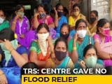 Video : Hyderabad Flood: TRS-BJP In War Of Words Over Missing Central Aid