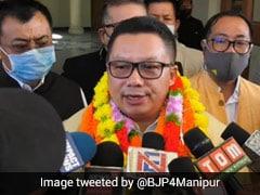 BJP Leader Mayanglabam Rameshwar Singh Sworn-In As Manipur MLA