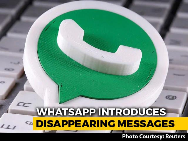 Video : WhatsApp Disappearing Messages Feature Launched, Rollout To Be Completed In November