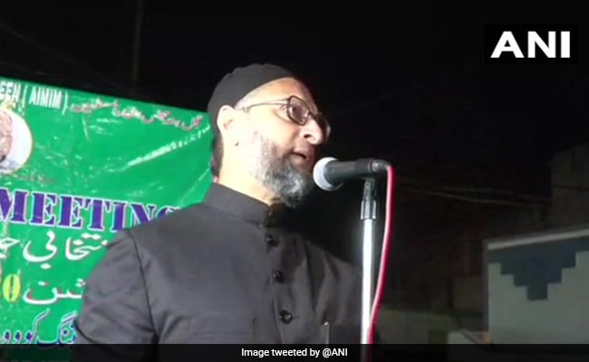 """As If We're Electing Prime Minister…"": Asaduddin Owaisi's Dig At BJP"
