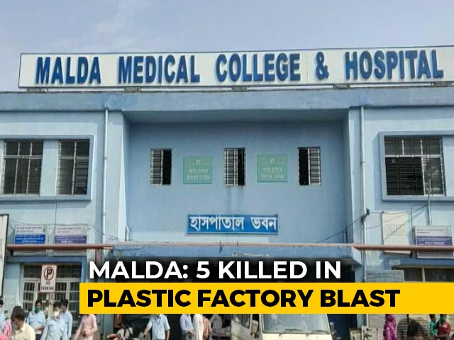 Video: 5 Killed In Blast At Plastic Factory In West Bengal's Malda