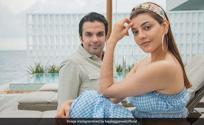 Kajal Aggarwal's Poolside Breakfast In Maldives Is A Whole Other 'Mood' (See Pic)