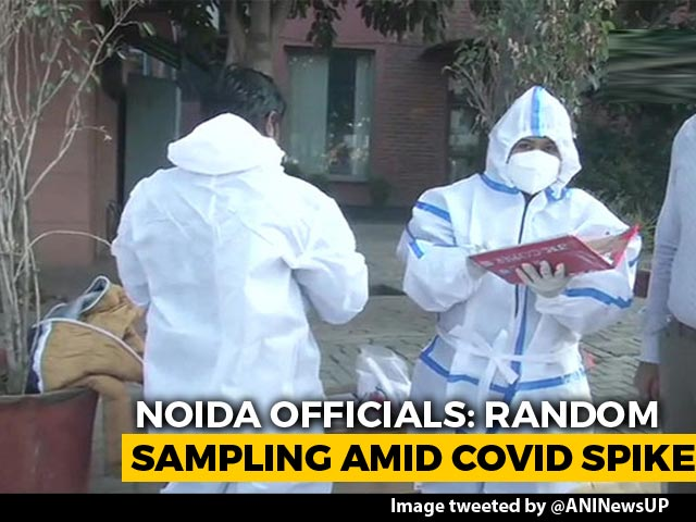 Video : Noida Begins Random COVID-19 Tests At Borders For People Coming From Delhi